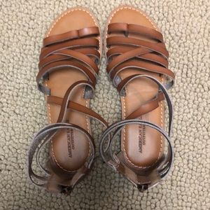 American Eagle sandals. Worn once.